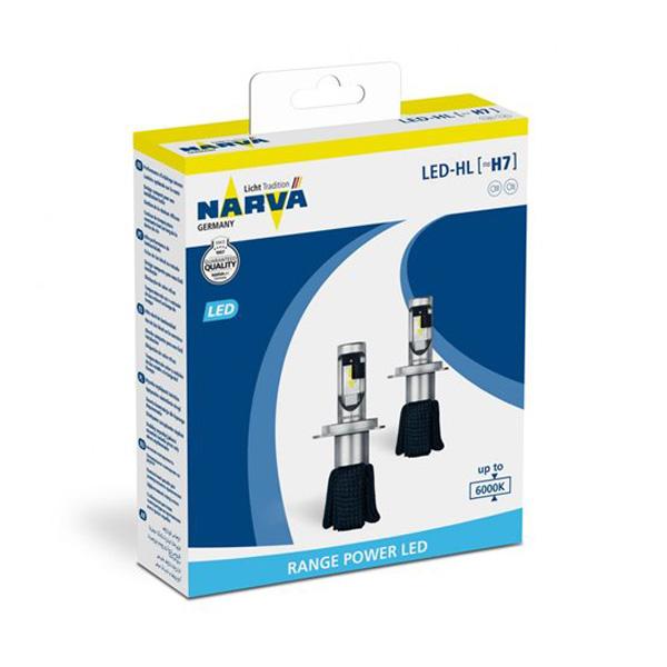 Pack Ampolletas Narva H7 16W
