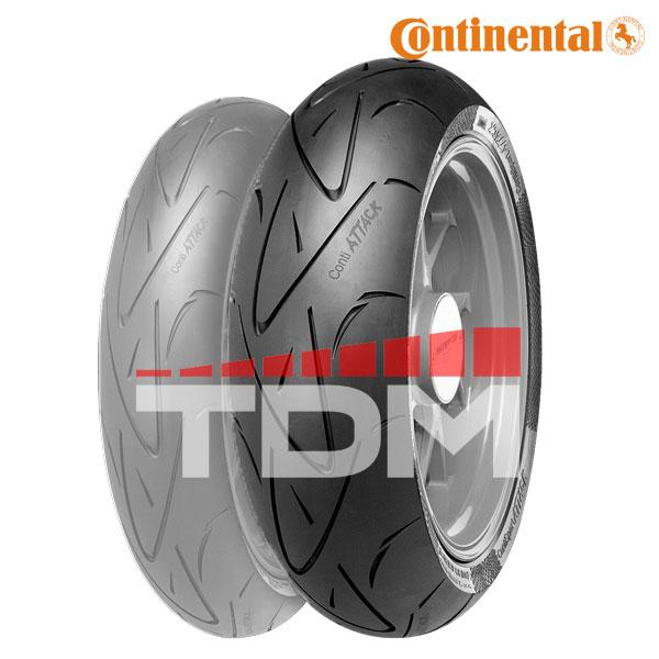 Neumático Moto Continental ContiSportAttack Trasero